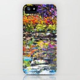 Hidden Peace by Sher Nasser Artist iPhone Case