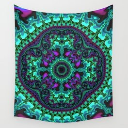 Time Keeps on Slipping into the Future Wall Tapestry