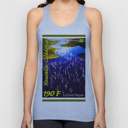 Landscapes and Animals of New Caledonia Unisex Tank Top