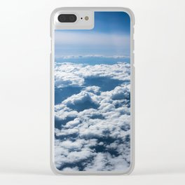 Flying Over California Clear iPhone Case