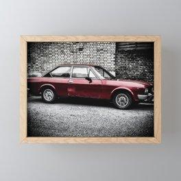 Italian Coupe Framed Mini Art Print