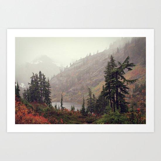 The Colors of Fall Art Print