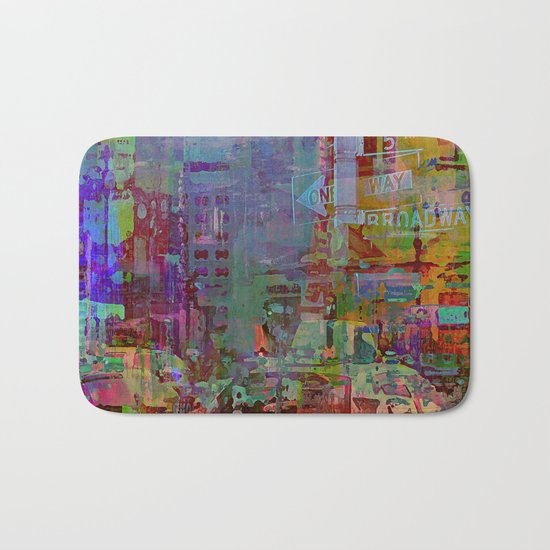 Somewhere in the city Bath Mat