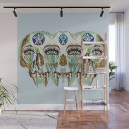 Double Vision Gothic Wall Mural