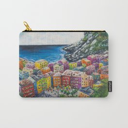 Cosy Cove from Cinque Terre, Italia Carry-All Pouch