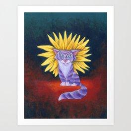 The Dandy Lion Art Print