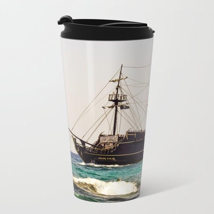Ship Metal Travel Mug