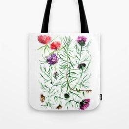Thistles Group Tote Bag