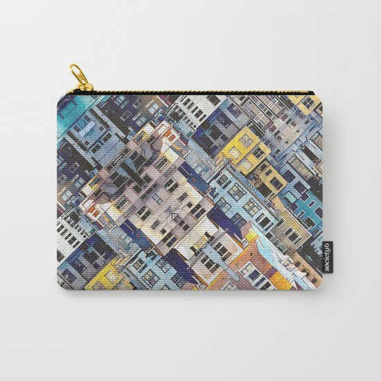 Apartments In The City Carry-All Pouch