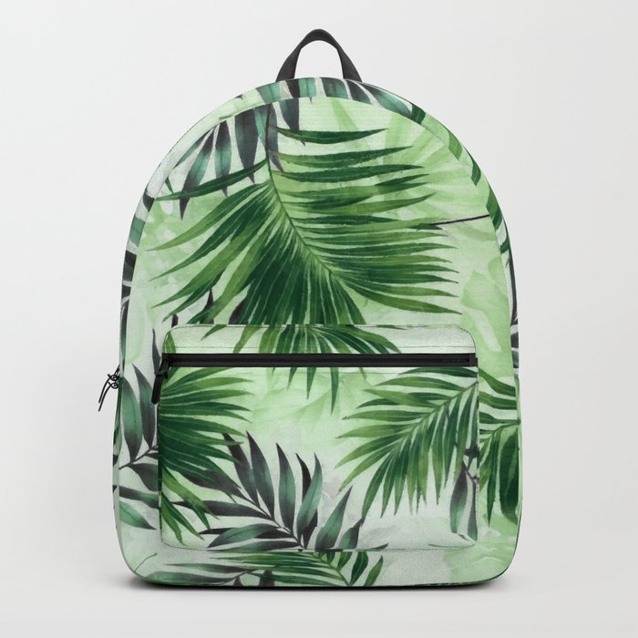 Palm leaves IV Backpack