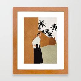 Backbone Framed Art Print