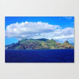 Kauai's Bright Welcome Canvas Print