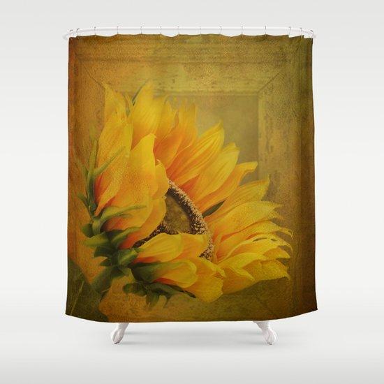 Sunflower Shower Curtain Hooks