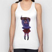 gravity falls Tank Tops featuring Gravity Falls- Floating by Welcoming-Meg