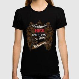 September Birth T Shirt T-shirt
