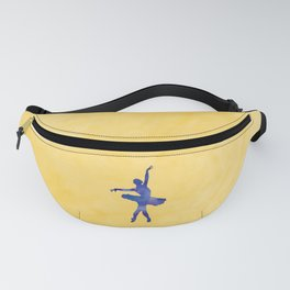 AP116 Watercolor dancer Fanny Pack