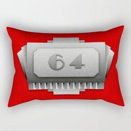 Room #64 Rectangular Pillow