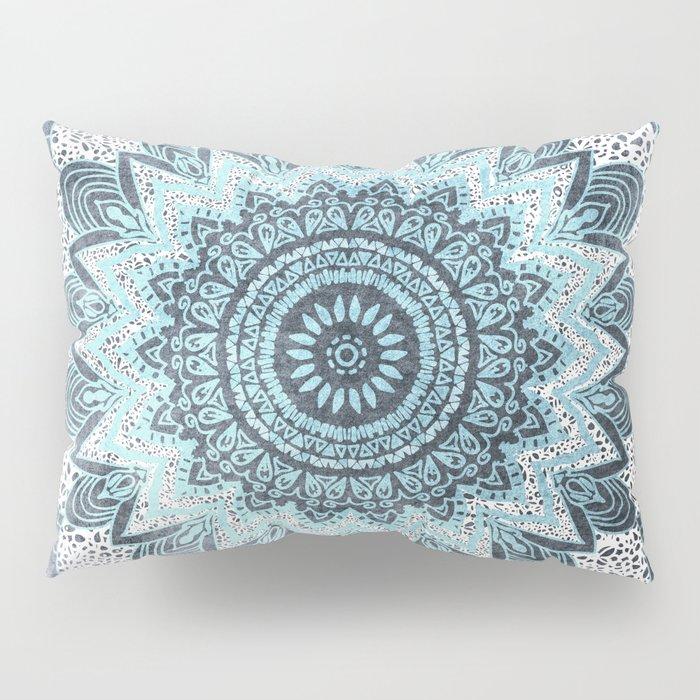 BOHOCHIC MANDALA IN BLUE Pillow Sham