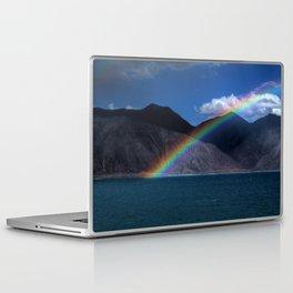 The Rainbow at Pangong! Laptop & iPad Skin