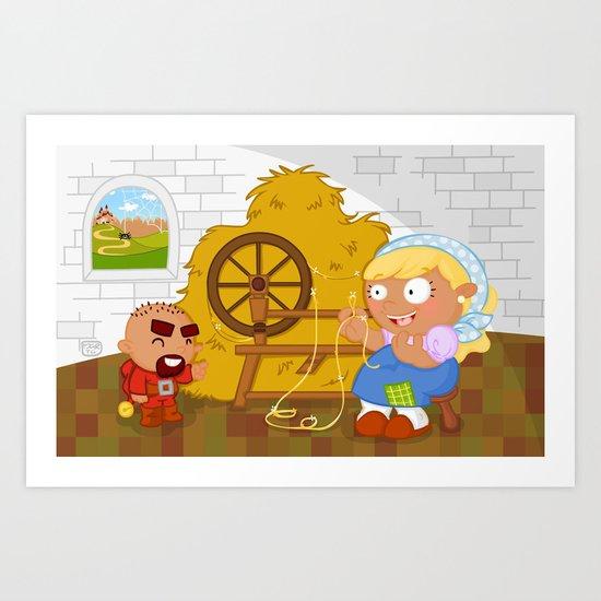 Rumpelstiltskin Art Print