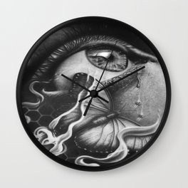 Chryseyelis Wall Clock
