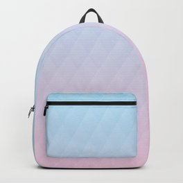 Relaxing Diamond Pattern - Cyan and Pink Backpack