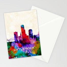 Little Rock Skyline Stationery Cards