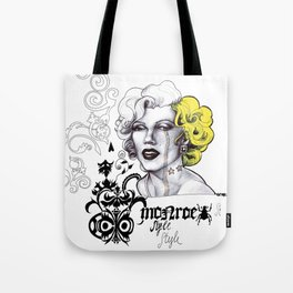 Monroe Style Tote Bag