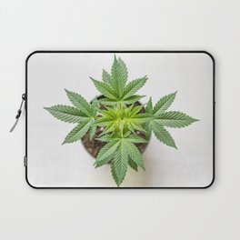 Marijuana Landscape Laptop Sleeve
