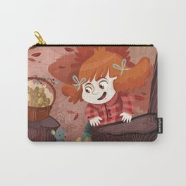 Autumn time | Giadina and mushrooms Carry-All Pouch