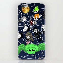 Lilwickidz Spiderweb Poster iPhone Skin