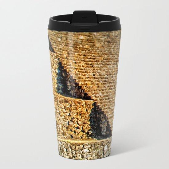 PATTERNS OF HISTORY Metal Travel Mug