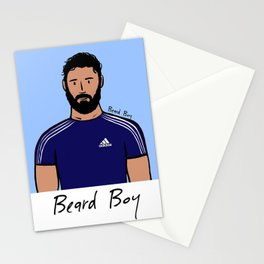 Beard Boy: Mauro Stationery Cards