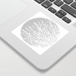 Planet Surface Circle Sticker