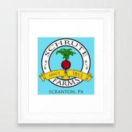 Schrute Farms | The Office - Dwight Schrute Framed Art Print