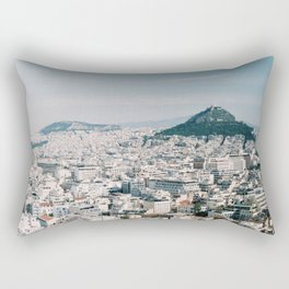 View from the Parthenon in Athens, Greece Rectangular Pillow
