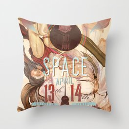 space (2013) Throw Pillow
