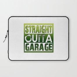STRAIGHT OUTTA GARAGE Laptop Sleeve