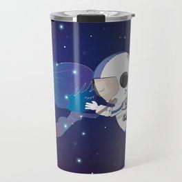 Mermaid Constellation Travel Mug