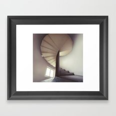 Spiral frontal Framed Art Print