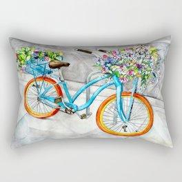 Cheerful Ride Rectangular Pillow