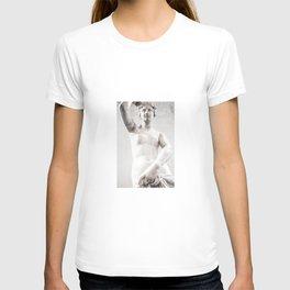greek female sculpture T-shirt