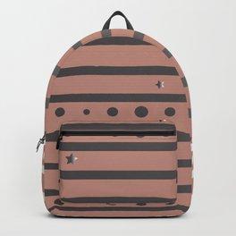 Silver Frame Backpack
