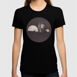 Moon on a meadow vintage 1920s T-shirt