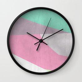 abstract pastel no. 13 Wall Clock