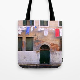 Laundry Line Tote Bag