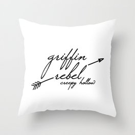 Griffin Rebel Throw Pillow