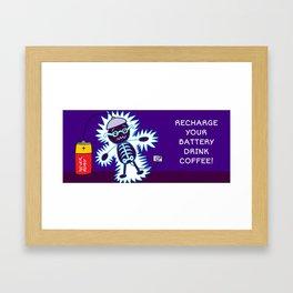Recharge Framed Art Print