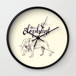 New Elephant Generation Wall Clock