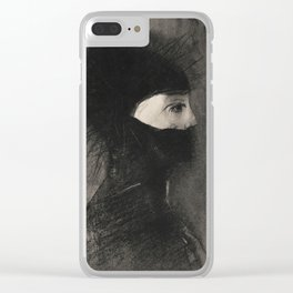Armor by Odilon Redon Clear iPhone Case